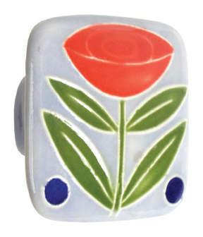 Large Square Ceramic Knob Product Image
