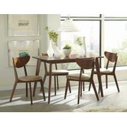 Kersey Retro Chestnut Dining Chair Product Image