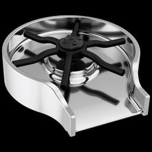 Chrome Metal Glass Rinser