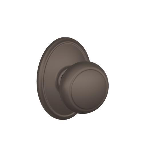 Andover Knob with Wakefield trim Hall & Closet Lock - Oil-Rubbed Bronze