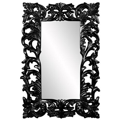 Howard Elliott - Augustus Mirror - Glossy Black
