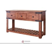 View Product - Sofa Table w/3 Drawers
