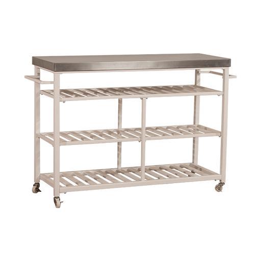 Gallery - Kennon Kitchen Cart - Stainless Steel
