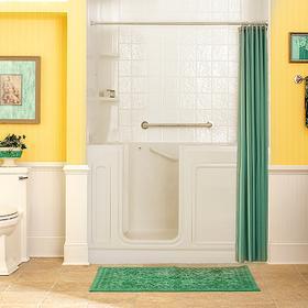 Luxury Series 32x60-inch Soaking Walk-In Tub  American Standard - Linen