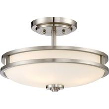 View Product - Cadet Semi-Flush Mount in Brushed Nickel