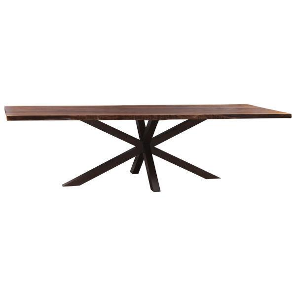 See Details - Live Edge Double X Dining Base