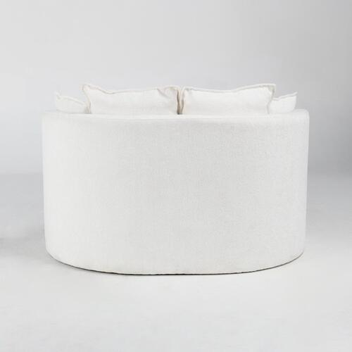 Classic Home - Caroline Lounge Chair Ivory