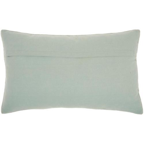 """Sofia Az534 Celadon 12"""" X 20"""" Throw Pillow"""