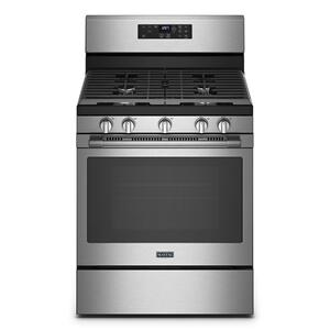 MaytagGas Range with Air Fryer and Basket - 5.0 cu. ft.