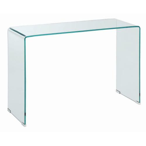 Product Image - Contemporary Clear Sofa Table
