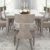 Rectangular Dining Table (includes: 2 X 22 Leaves)