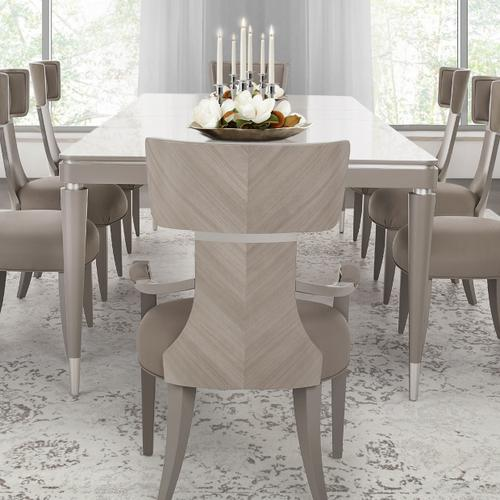 Amini - Rectangular Dining Table (includes: 2 X 22 Leaves)