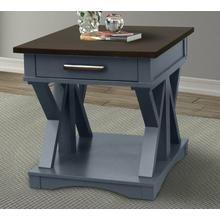 View Product - AMERICANA MODERN - DENIM End Table