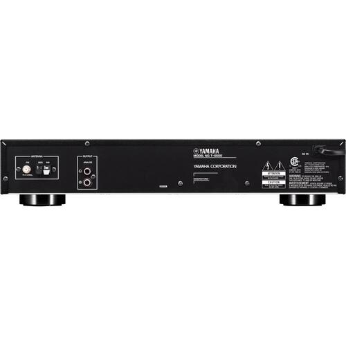 T-S500 Black AM/FM Stereo Tuner