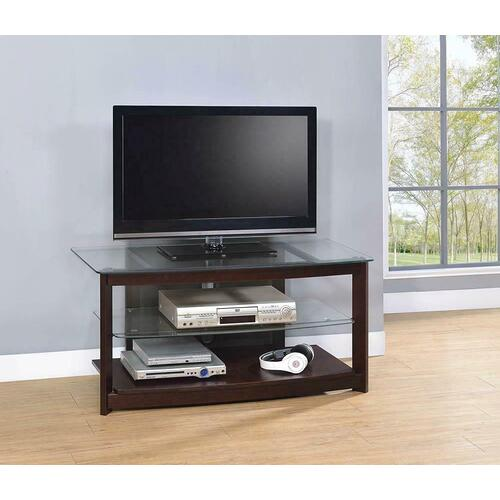 Product Image - Dark Brown TV Console