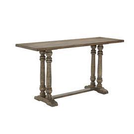 Counter Table - Smokey Oak Finish