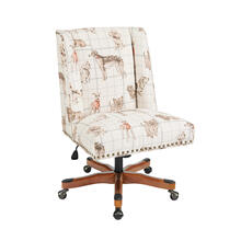 Draper Dog Daze Office Chair Stone