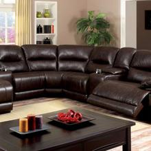 See Details - Glasgow Sectional W/ 2 Consoles