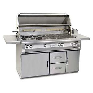 "Alfresco - 56"" Jumbo cart model grill"