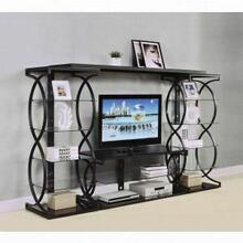 ACME Milo Entertainment Center - 91125 - Sandy Black