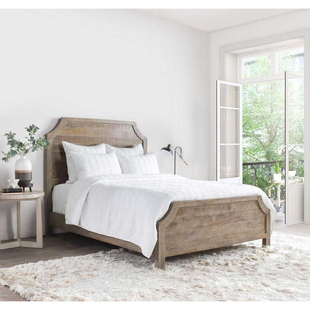 See Details - Carly White King Quilt with SILVADUR Tech