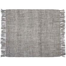"Throw T1123 Grey 50"" X 60"" Throw Blanket"
