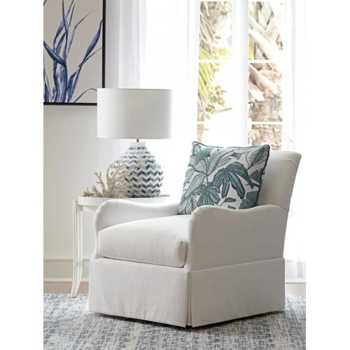 Tommy Bahama - Palm Frond Swivel Chair