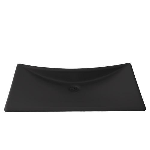 Waza® Noir Cast Iron Lavatory - Matte Black