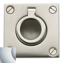 View Product - Satin Chrome Flush Ring Pull