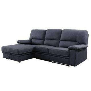 ACME Reclining Storage Sectional Sofa - 51605