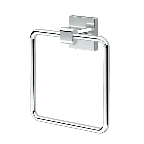 Elevate Towel Ring in Chrome