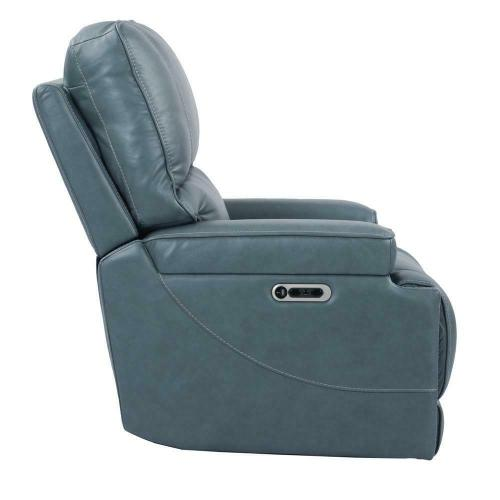 Product Image - WHITMAN - VERONA AZURE - Powered By FreeMotion Power Cordless Recliner