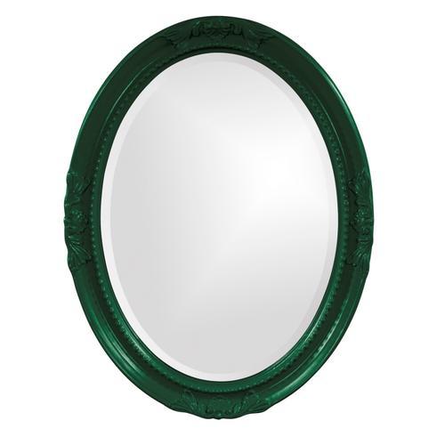 Howard Elliott - Queen Ann Mirror - Glossy Hunter Green