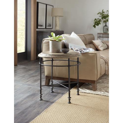 Living Room La Grange Faison Round End Table