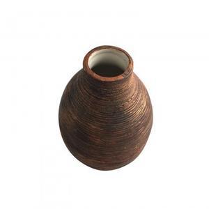 Ceramic Vase - Metallic Copper glazed