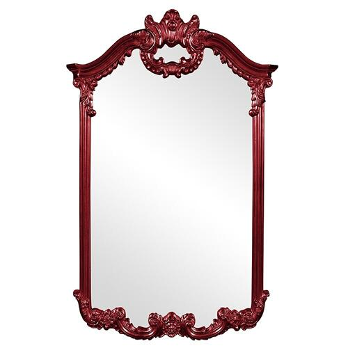 Howard Elliott - Roman Mirror - Glossy Burgundy
