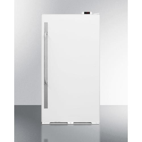 Commercially Approved Large Capacity Upright All-freezer With Frost-free Operation, Digital Thermostat, and Lock