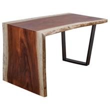 "Live Edge Guanacaste 54"" Waterfall Desk"