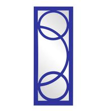 View Product - Dynasty Mirror - Glossy Royal Blue