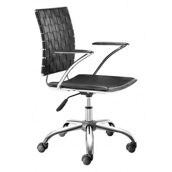See Details - Criss Cross Office Chair Black