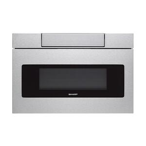 Sharp24 in. 1.2 cu. ft. 950W Sharp Stainless Steel Microwave Drawer Oven