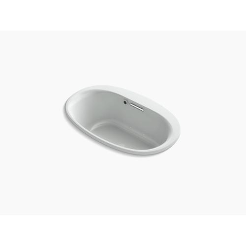 "Ice Grey 60"" X 36"" Heated Bubblemassage Air Bath With Center Drain"