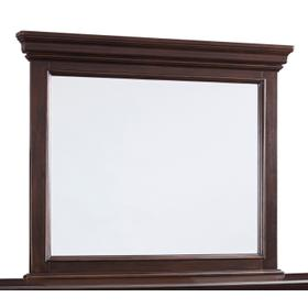 Brynhurst Bedroom Mirror Dark Brown
