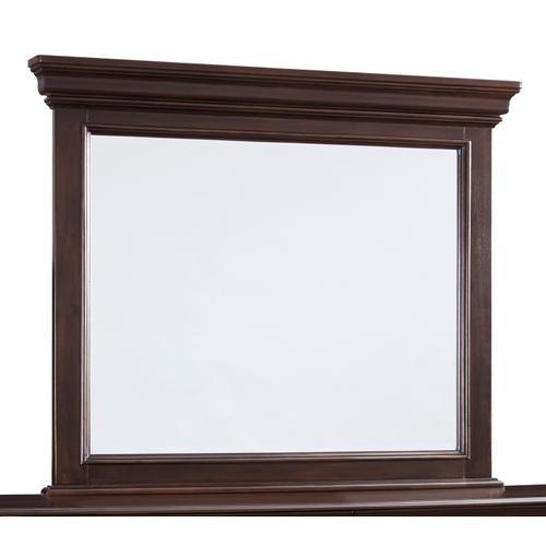 Brynhurst Bedroom Mirror Dark Brown
