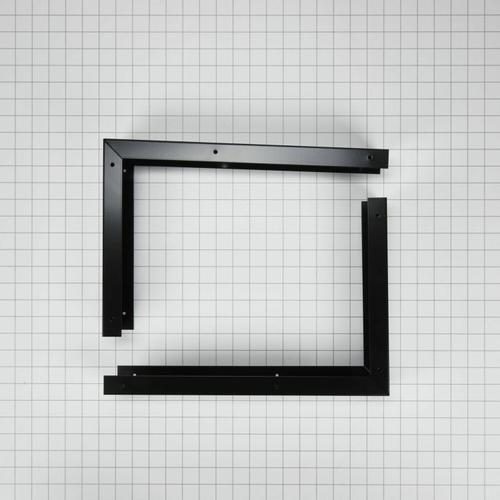 "KitchenAid - 30"" Microwave Hood Filler Kit, Black - Other"