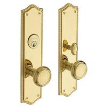 Lifetime Polished Brass Barclay Entrance Trim
