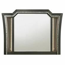 ACME Kaitlyn Mirror - 27284 - Metallic Gray