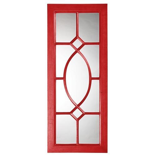 Howard Elliott - Dayton Mirror - Glossy Red
