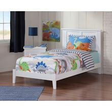 Madison Twin XL Bed in White