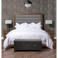 Eastern King Channel Tufted Panel Bed (3 Pc)